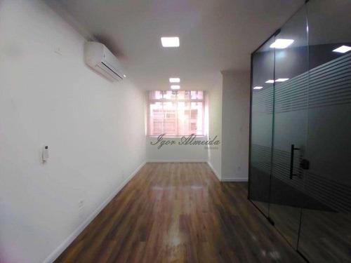 Imagem 1 de 21 de Conjunto Para Alugar, 122 M² Por R$ 3.600,00/mês - República - São Paulo/sp - Cj3844