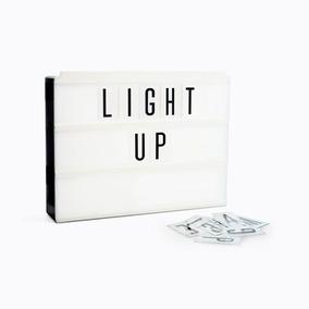 Cartel Luminoso Letras Cinebox #navidad