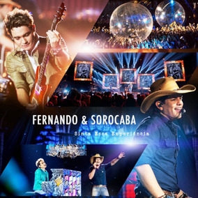 Cd Fernando & Sorocaba Sinta Essa Experiência Mpb Pop