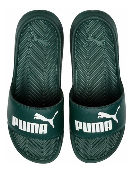 Chinelas Puma Pop Cat Ver/bla Unisex