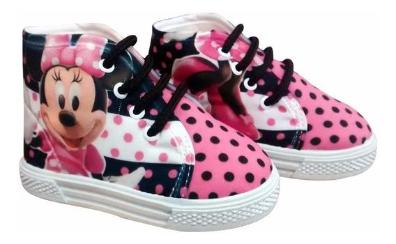 Tenis Bota De Minnie Mouse