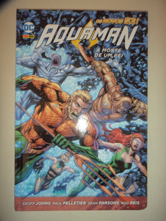 Os Novos 52 Aquaman A Morte De Um Rei Capa Dura Panini Excel