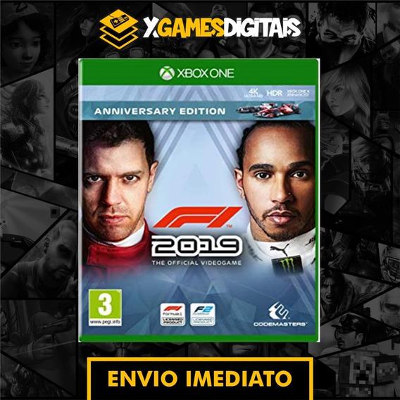 Formula 1 2019 F1 19 Xbox One Midia Digital + 1 Jogo Grátis