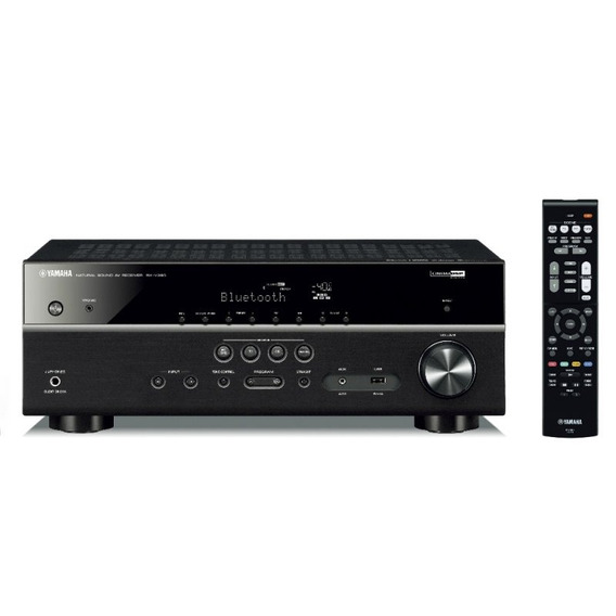 Receiver Av Yamaha Rx-v385bl De 5.1 Canais 500w 4k Bluetoot