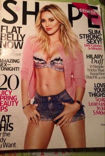 Revista Shape Con Hilary Duff