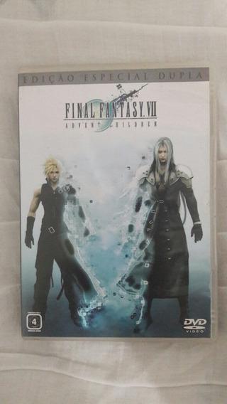 Final Fantasy 7 Advent Childen Dvd Duplo Versão Brasileira