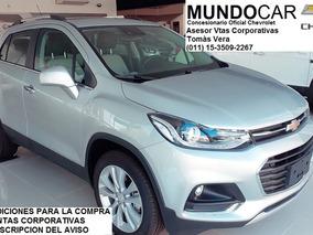 Chevrolet Tracker 1.8 Ltz+ 140cv 0km 2018 Linea Nueva