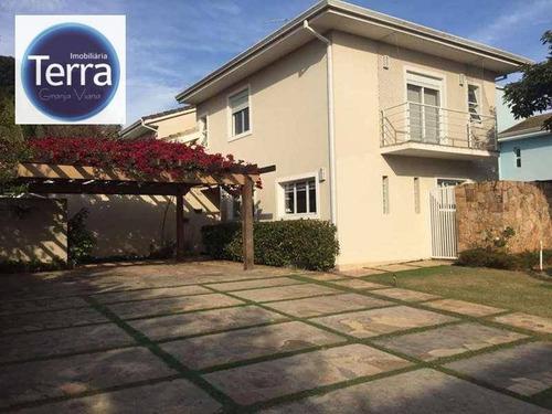 Imagem 1 de 30 de Casa Com 4 Dormitórios À Venda - Quinta Das Jabuticabeiras - Granja Viana - Ca1978