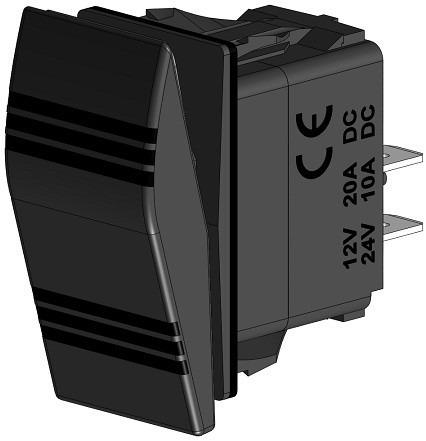 Imagem 1 de 1 de Interruptor On - Off - On - Cod 2747