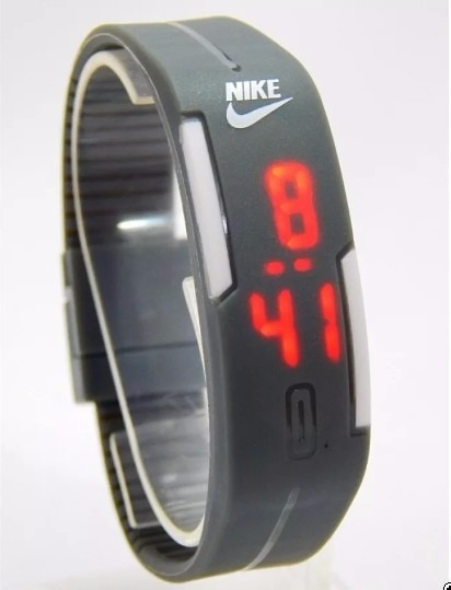 Relógio Led Nike Digital Sport Silicone Pulseira