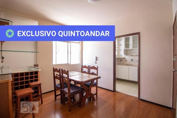 Apartamento No 2º Andar Mobiliado Com 1 Dormitório E 1 Garagem - Id: 892986794 - 286794