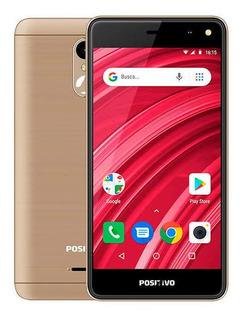 Smartphone Positivo Twist 2 Fit, 16gb Dourado