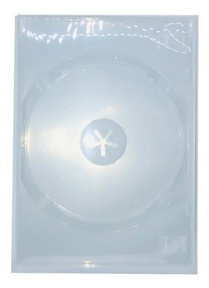 Estuche Para Dvd Sencillo Trasnparente 7mm 50 Pzas