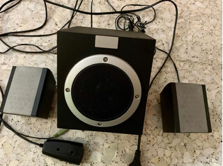 Sistema De Sonido Multimedia 2.1 Marca Carrefour (españa)