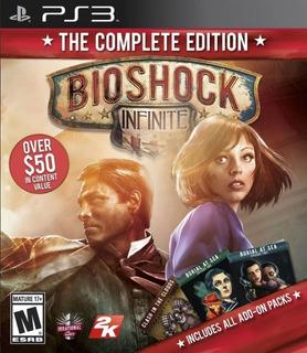 Bioshock Infinite Edición Final + Todos Los Dlc Ps3 Original
