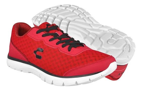 Tenis Casuales Para Caballero Charly 1029149 Rojo