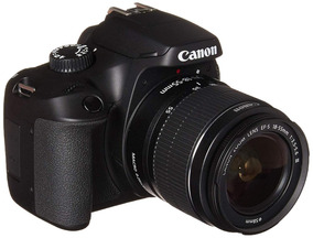 Câmera Digital Canon T6 Ef-s 18-55 F/3.5-5.6 Iii Br 18mp