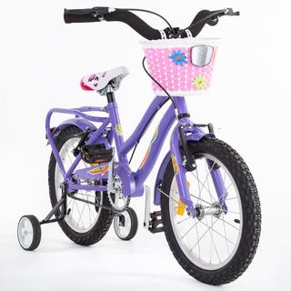 Bicicleta Niños M.hendel Playera Full R-16 Nena Colores Vari