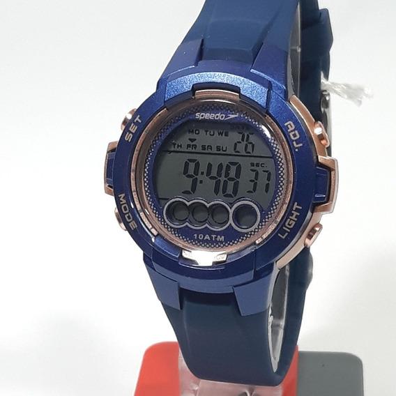 Relógio Esportivo Feminino Speedo 65099l0evnp2 Cor Azul