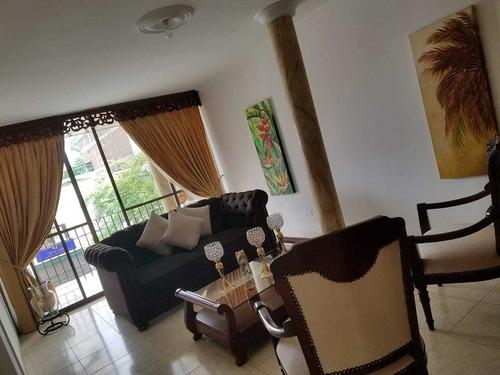 Apartamento Cali Central. 4 Hab., 3 Baños, Patio Y Terraza