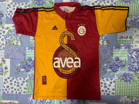 Camisa Galatasaray Centenário 04/05 Rara Tam P Usada Promo