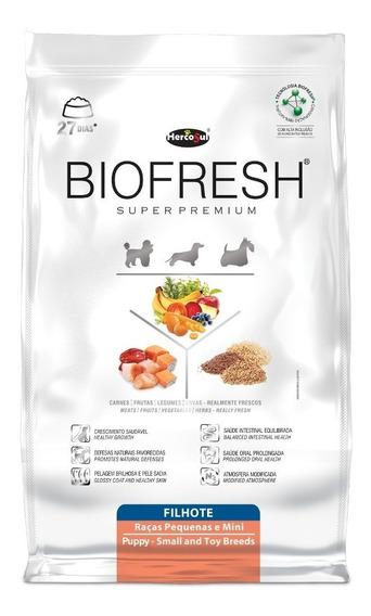 Ração Biofresh Filhotes Raças Pequenas E Mini 7,5kg - 2 Unid