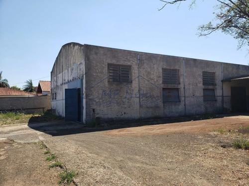 Armazém/barracão, Vila Santa Terezinha, Pirassununga - R$ 1.6 Mi, Cod: 50900 - V50900