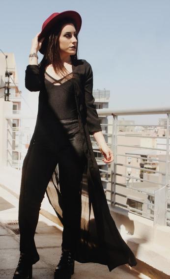 Calzas Cat Black