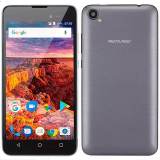 Smartphone Multilaser Ms50l P9051 Preto Tela 5 3g Dual Chip