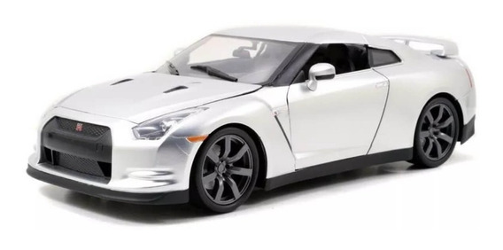 Brian S Nissan Gtr R35 Velozes E Furiosos 7 Jada Toys 1:18