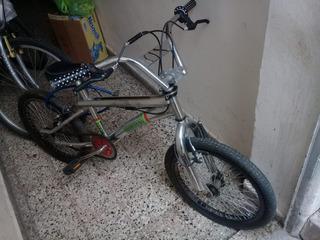 Bicicleta Freestyle Bmx Rod 20 Cromada Top Mega
