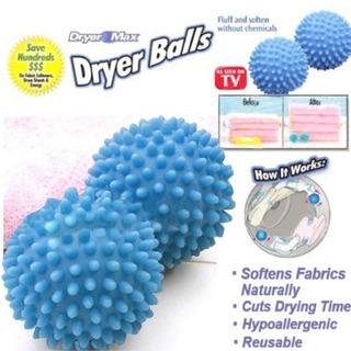 Secador De Bola De Lavar Roupa Sem Produtos Químicos 2 Pçs