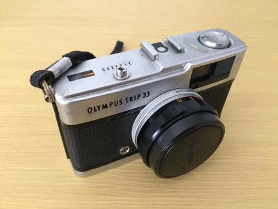 Camera Antiga Olympus - Decoração