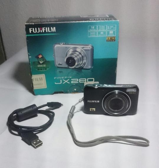 Câmera Digital Fujifilm Finepix Jx280 S/ Bateria/carregador