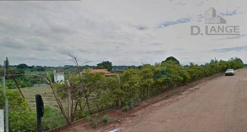 Área À Venda, 45000 M² Por R$ 6.750.000,00 - Chácara Santa Margarida - Campinas/sp - Ar0239