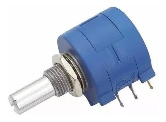 Potenciômetro Multivoltas 3590s 5k 10 Voltas Kit Com 5 Peças