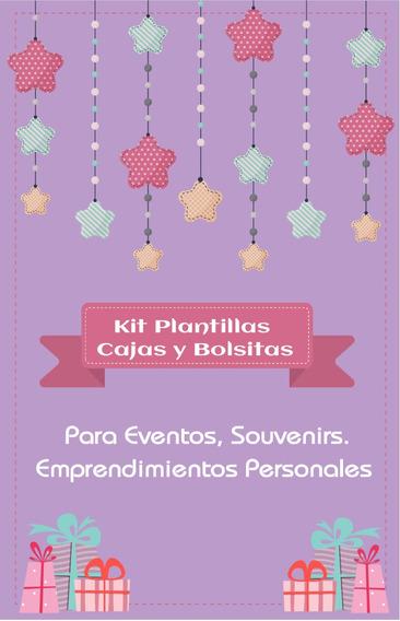 Kit Plantillas P/ Bolsitas Y Cajitas
