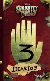 Gravity Falls - Diario 3 - Disney - Oferta - En Rosario