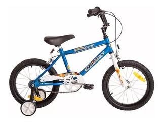 Bicicleta Rodado 16 Bmx Varon Halley 19050