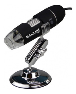 Microscopio Digital Usb Galileo Luz Led Foto Video 500x