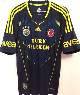 Camisa Fenerbahce 2012/13 Kuyt #11 Uniforme 2