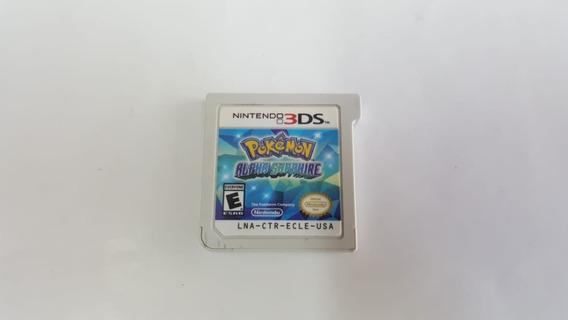 Jogo Pokemon Alpha Sapphire - 3ds - Original - Sem Capa