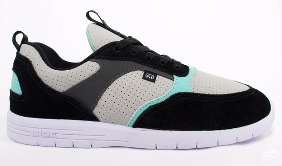Tênis Hocks Born Preto Cinza Black Grey Sneaker Original