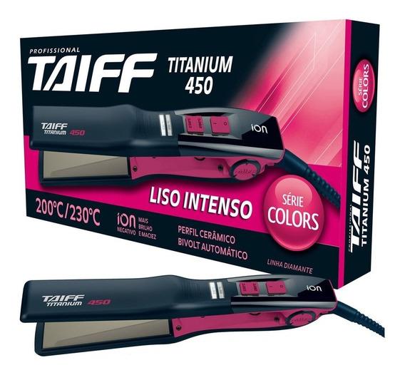 Taiff Chapa Titanium 450 Pink Serie Colors Bivolt