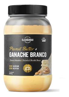Pasta De Amendoim (500g) Ganache Branco - El Shaddai