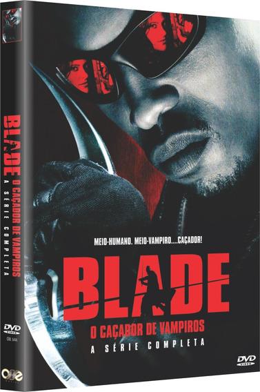 Blade - O Caçador De Vampiros - A Série - Box Com 4 Dvds