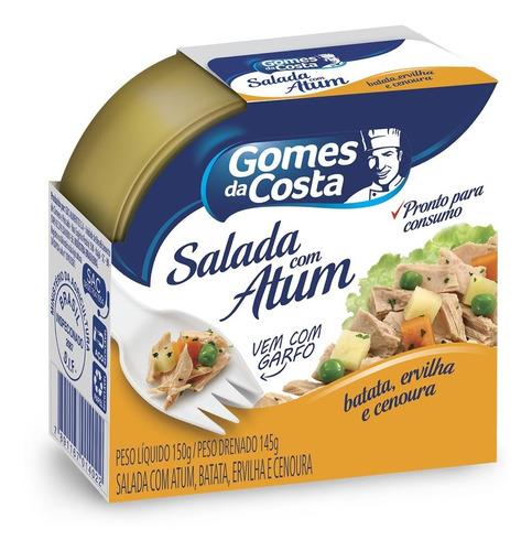 Salada C/ Atum, Batata, Ervilha, Cenoura Gomes Da Costa 150g