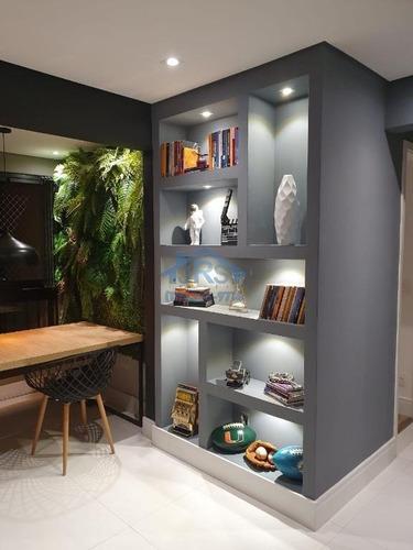 Apartamento Com 2 Dormitórios À Venda, 65 M² Por R$ 740.000,00 - Alphaville Empresarial - Barueri/sp - Ap4033