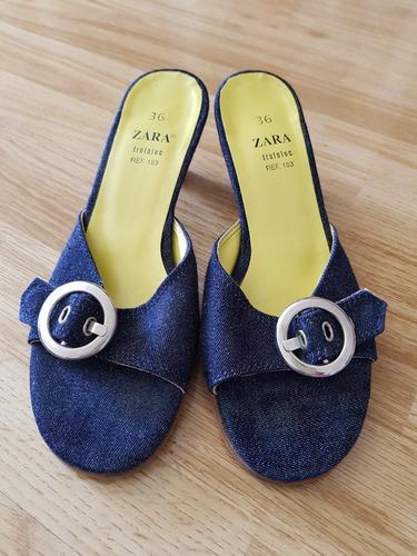 Sandalias 2017 Zara Talle 36 Zapatos de Mujer 36 Blanco en