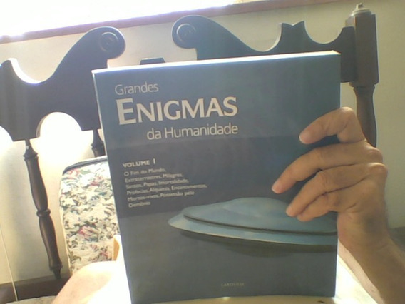 Livro Grandes Enigmas Da Humanidade Volume 1